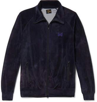 Needles Cotton-Blend Velvet Track Jacket