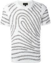Emporio Armani fingerprint T-shirt
