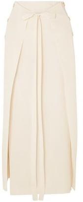 Sonia Rykiel Layered Stretch-knit Maxi Skirt