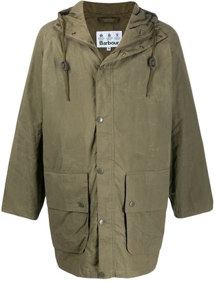 Barbour Oversized Hooded Jacket
