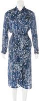 Zimmermann Silk Marbled Print Dress w/ Tags