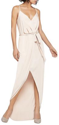 BCBGeneration Belted Maxi Dress
