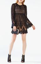 BCBGMAXAZRIA Luann Floral Lace Dress