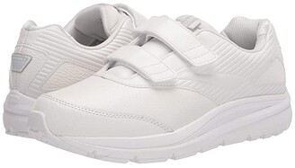 Brooks Addiction Walker V-Strap (White/White) Women's Walking Shoes