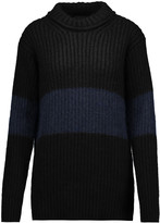 Belstaff Rosie ribbed-knit mohair-blend sweater