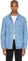 Etudes Blue Denim Guest Jacket