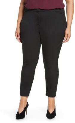 Halogen Straight Leg Trousers (Plus Size)