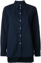 MM6 MAISON MARGIELA spread collar shirt - women - Cotton - 42