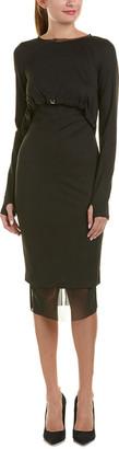 Alton Gray Sheath Dress