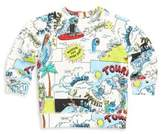Stella McCartney Kids Baby's Billy Cartoon-Print Cotton Sweatshirt