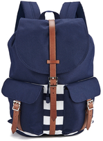 Herschel Men's Dawson Peacoat Offset Backpack Navy/White