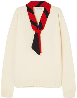 J.W.Anderson Tie-neck Merino Wool Sweater