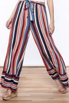 Love in Resort Striped Tie Waist Pants