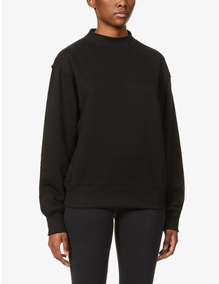 Alo Yoga Freestyle relaxed-fit stretch-jersey sweatshirt