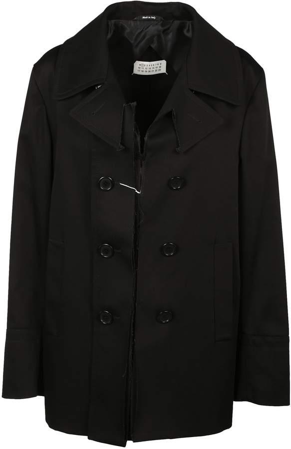Maison Margiela Button Down Pea Coat