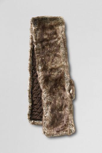 Lands' End Women's Faux Fur Stole