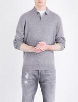 Brunello Cucinelli Regular-fit wool-blend polo shirt