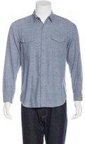 Steven Alan Flannel Button-Up Shirt
