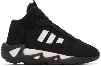 Y-3 Black and White FYW S-97 II Sneakers
