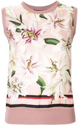 Dolce & Gabbana knitted tank top