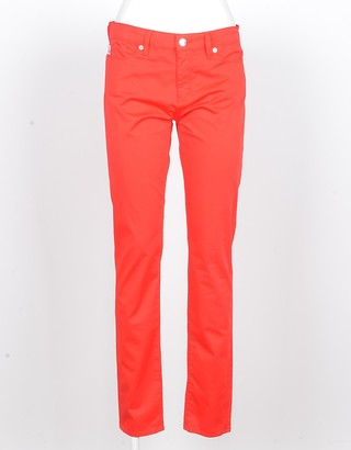 Love Moschino Women's Red Jeans
