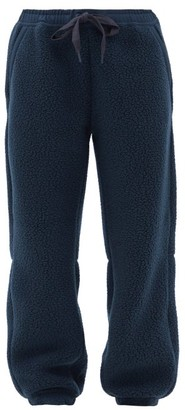 Holden - Elasticated-waist Fleece Track Pants - Navy