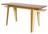 Brave Space Pin It Delta Desk In Amber Bamboo