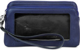 Kenneth Cole Reaction Tech Double Zip RFID Wristlet