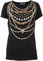 Alexander McQueen strand print T-shirt