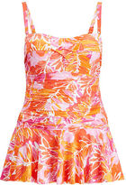 Ralph Lauren Woman Skirted One-Piece Swimsuit