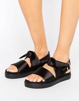 Monki Bow Detail Sandals