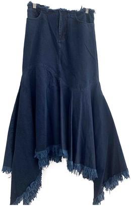 Marques Almeida Blue Denim - Jeans Skirt for Women