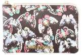 Zadig & Voltaire Printed Leather Pouch w/ Tags