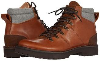 Eleventy Hiker Boot (Camel/Light Grey) Men's Shoes