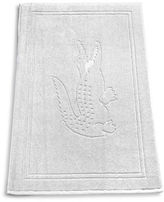 Lacoste Solid Croc Cotton Tub Mat