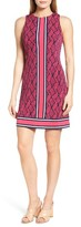 MICHAEL Michael Kors Women's Graphic Mamba Border Print Sheath Dress