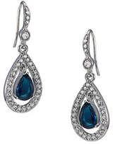 Carolee Simply Blue Briolet Drop Earring