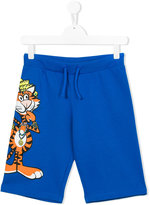 Moschino Kids tiger print shorts