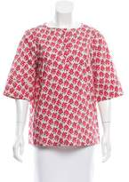 Suno Floral Oversize Top