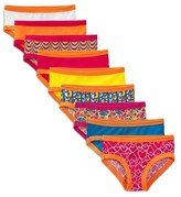 Fruit of the Loom Girls' 9-pack Hipsters Underwear - Assorted Colors
