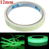 GBz-16 Self Adhesive Green Luminous Tape Waterproof Photoluminescent Tape 12mm Wide Glow In The Dark Stage Home Decor