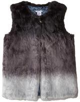Little Marc Jacobs Dip Dyed Faux Fur Vest (Big Kids)