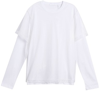 Helmut Lang Double Layer Long Sleeve Shirt