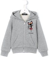 DSQUARED2 cat print hoodie