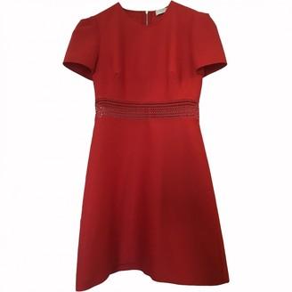 Sandro Spring Summer 2018 Red Cotton Dress for Women