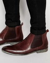 Base London Leather Chelsea Boots