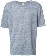 Baldwin - plain T-shirt - men - Linen/Flax - L