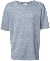 Baldwin - plain T-shirt - men - Linen/Flax - S