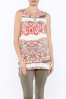 Tribal Printed Tunic Top