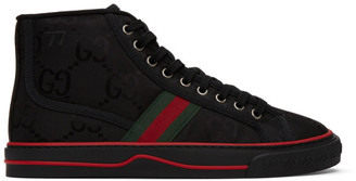 Gucci Black Tennis 1977 Off The Grid High-Top Sneakers